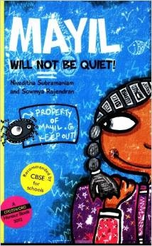 Madras Booklist - Mayil Will Not Be Quiet by Soumya Rajendran, Niveditha Subramanium